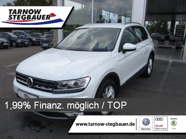 Volkswagen Tiguan 2.0 TDI Highline DSG LED AHK Kamera, Jahr 2017, Diesel