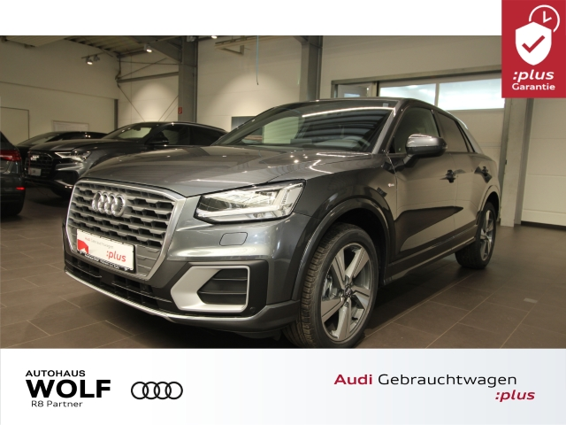 Audi Q2 30 TFSI S-line ACC LED Navi+ B&O DAB, Jahr 2020, Benzin