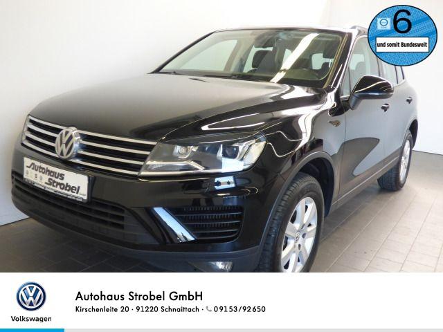 Volkswagen Touareg 3.0 V6 TDI DSG 4M LEDER XENON Navi Bluetooth Standheizung Parkpilot Sitzh, Jahr 2016, Diesel