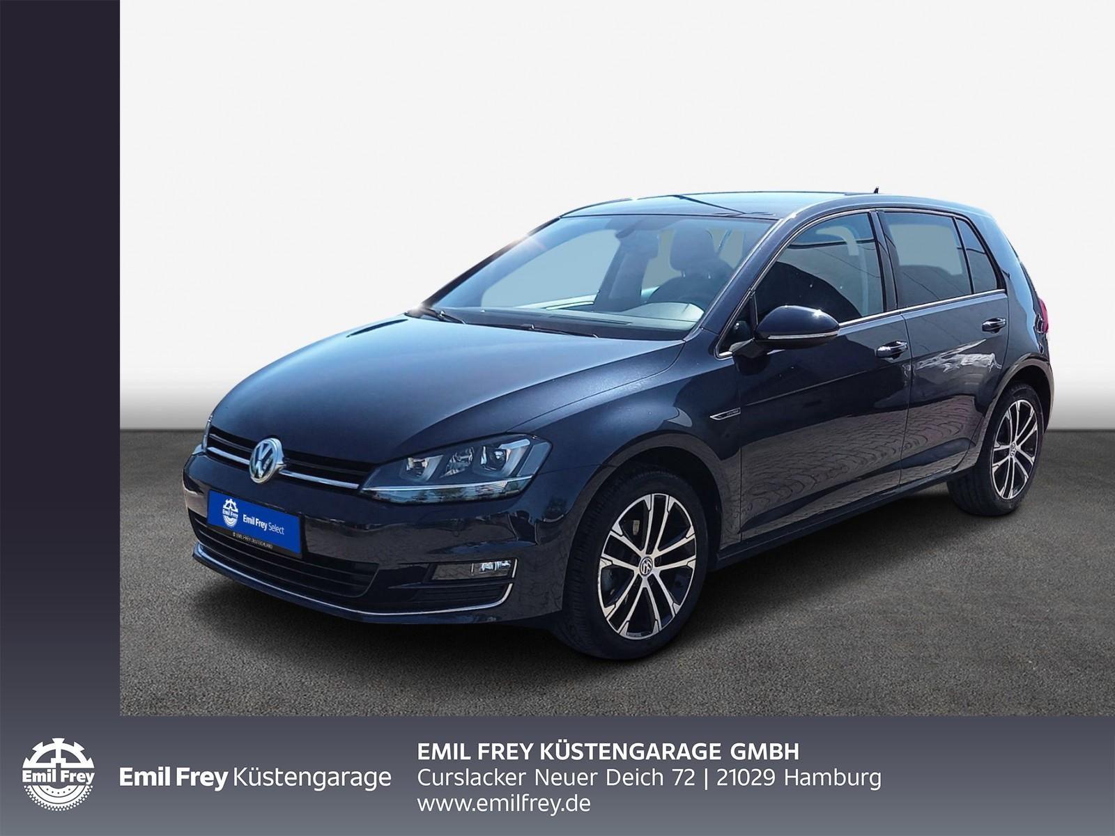 Volkswagen Golf VII 1.2 TSI Lounge, Xenon, Navi, Klima, Alu, Jahr 2015, Benzin