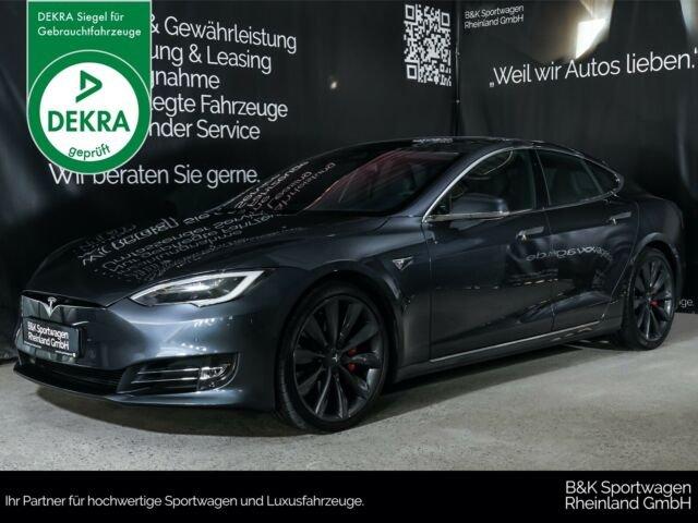 "Tesla Model S P100D AUTOPILOT/SMART-AIR/PANO/21"", Jahr 2017, Elektro"