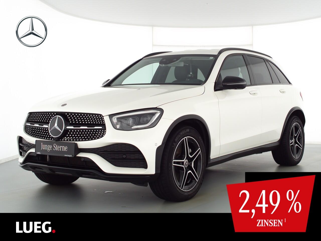 Mercedes-Benz GLC 220 d 4M AMG+MBUX+Mbeam+AHK+SpurP+Night+360°, Jahr 2020, Diesel