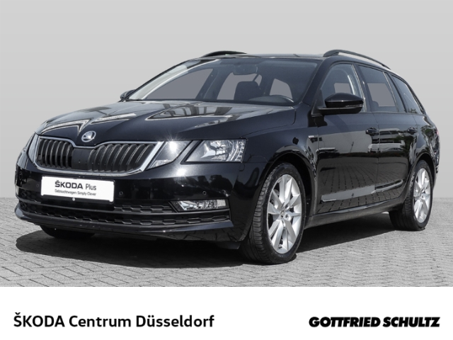 Skoda Octavia Combi Clever 1 0 TSI DSG Ambition, Jahr 2018, Benzin