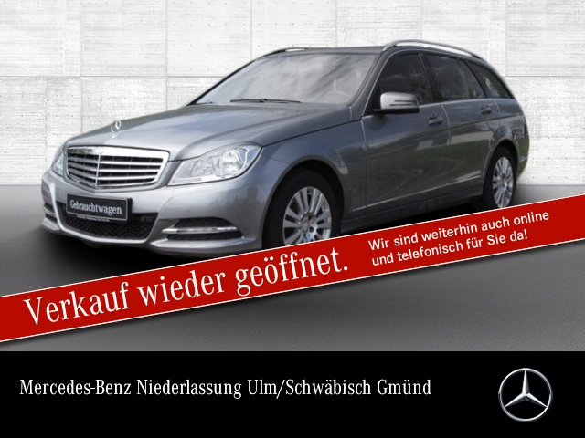 Mercedes-Benz C 250 T BE Elegance AHK PTS Sitzh Temp, Jahr 2012, Benzin