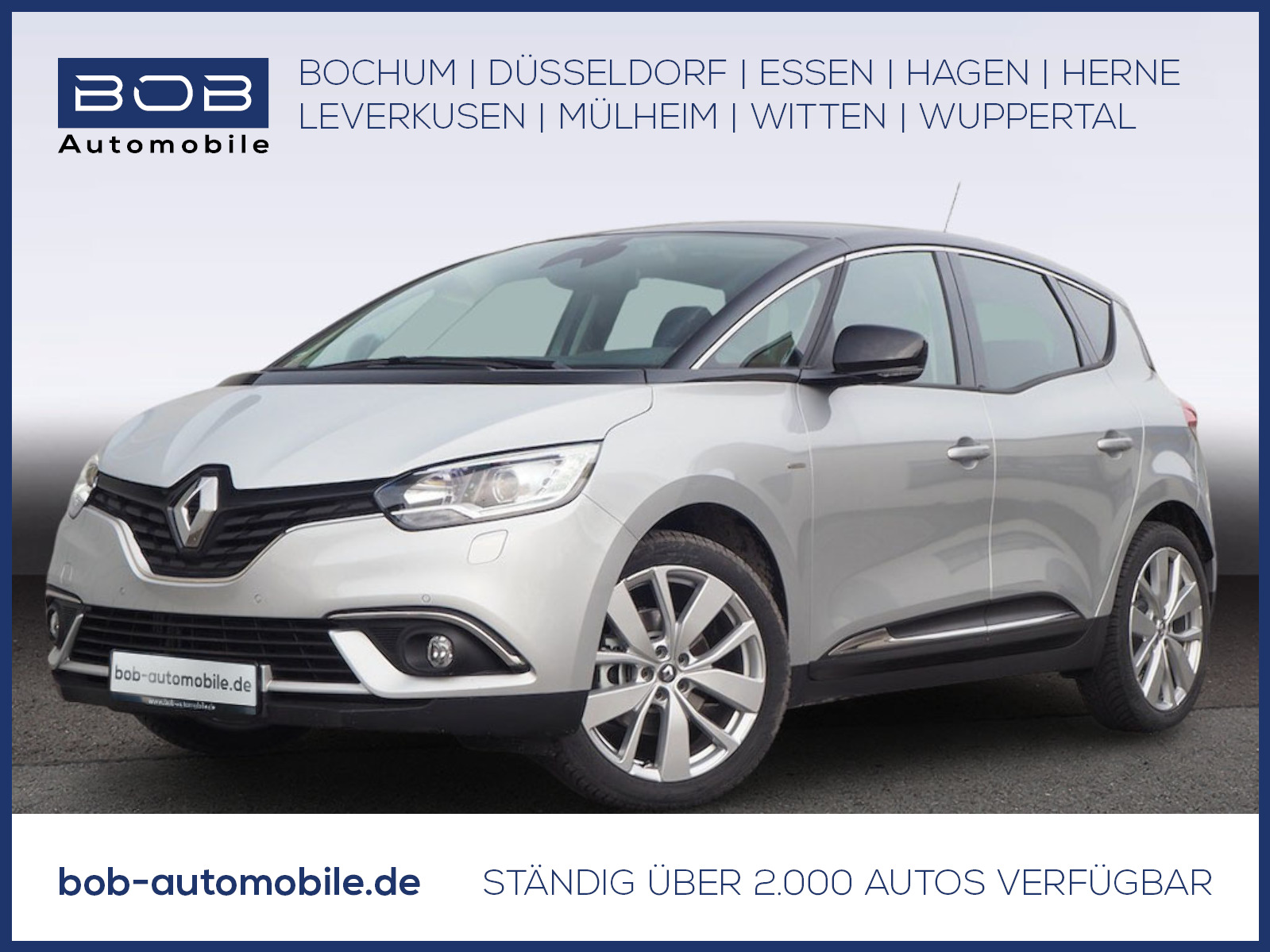 Renault Scenic LIMITED Deluxe TCe140 GPF NAVI SHZ Kamera, Jahr 2021, Benzin