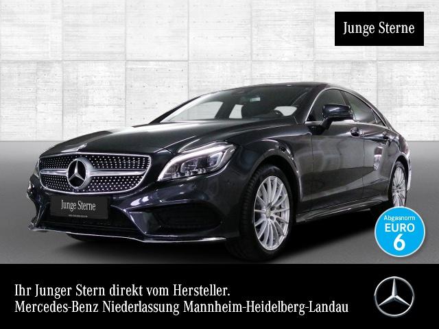 Mercedes-Benz CLS 500 Cp. 4M AMG Airmat Multibeam Burmester EDW, Jahr 2015, petrol