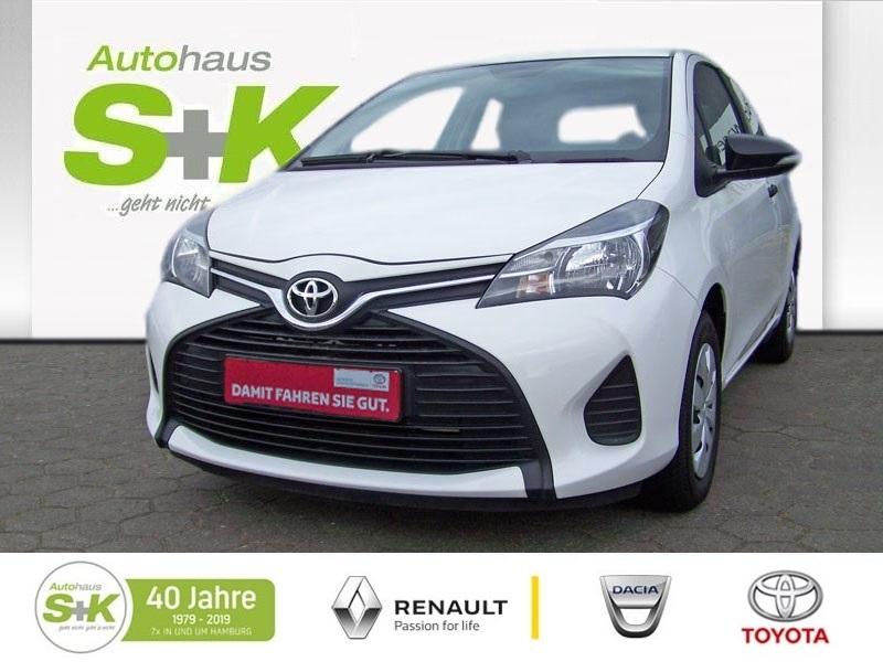 Toyota Yaris 1,0-l-VVT-i*Klima*8-Fach bereift*, Jahr 2015, petrol