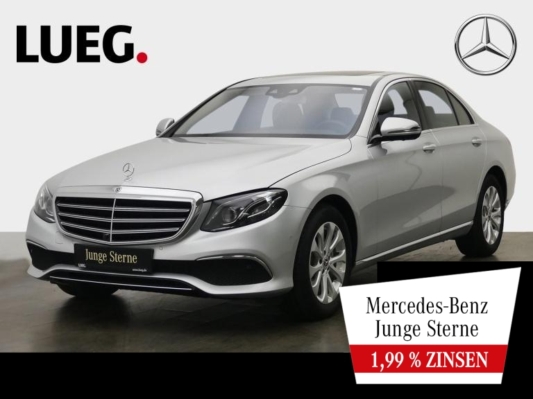 Mercedes-Benz E 300 d Exclusive+COM+SHD+Mbeam+AHK+AmbiBel+360°, Jahr 2019, Diesel