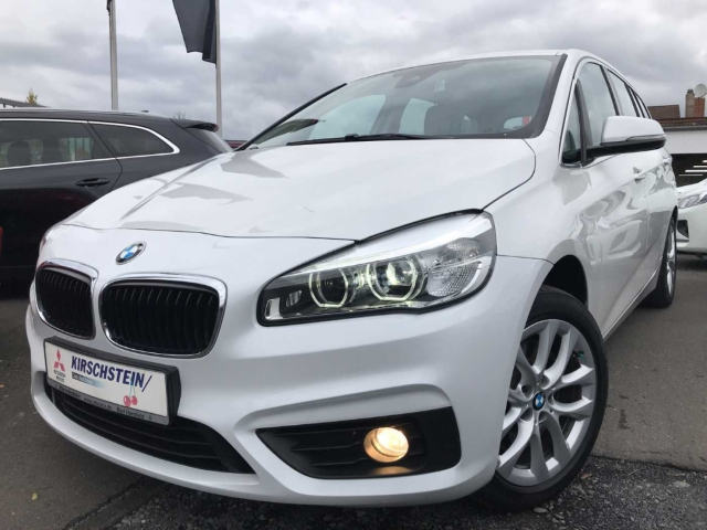 BMW 220 Gran Tourer d LED Navi PDC Head-Up Leder, Jahr 2016, Diesel