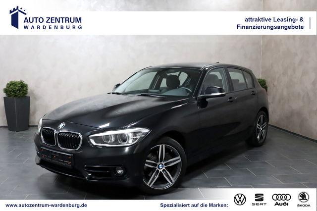 BMW 120 Sport Line Aut. 5-Türer LEDER LED NAVI SHZ, Jahr 2017, Diesel