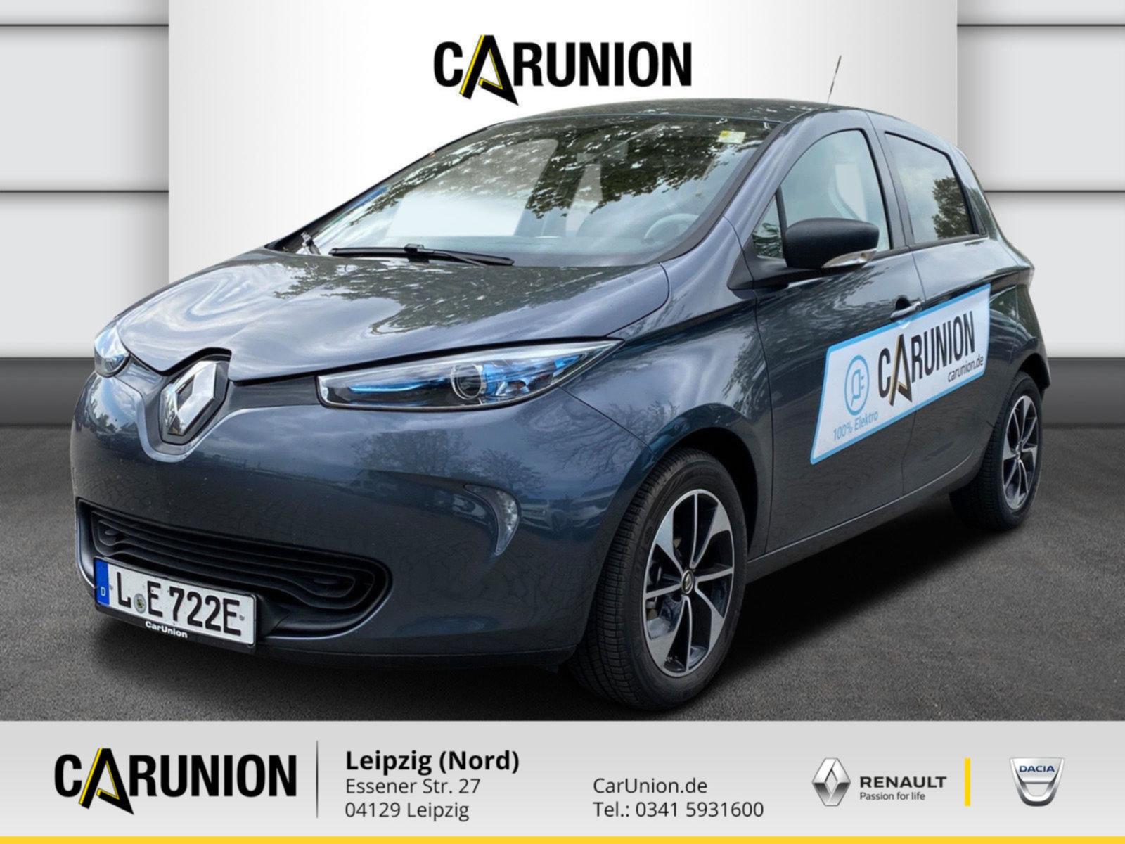 Renault ZOE LIFE Z.E. 40 90 Batteriemiete NAVI KLIMA, Jahr 2020, Elektro