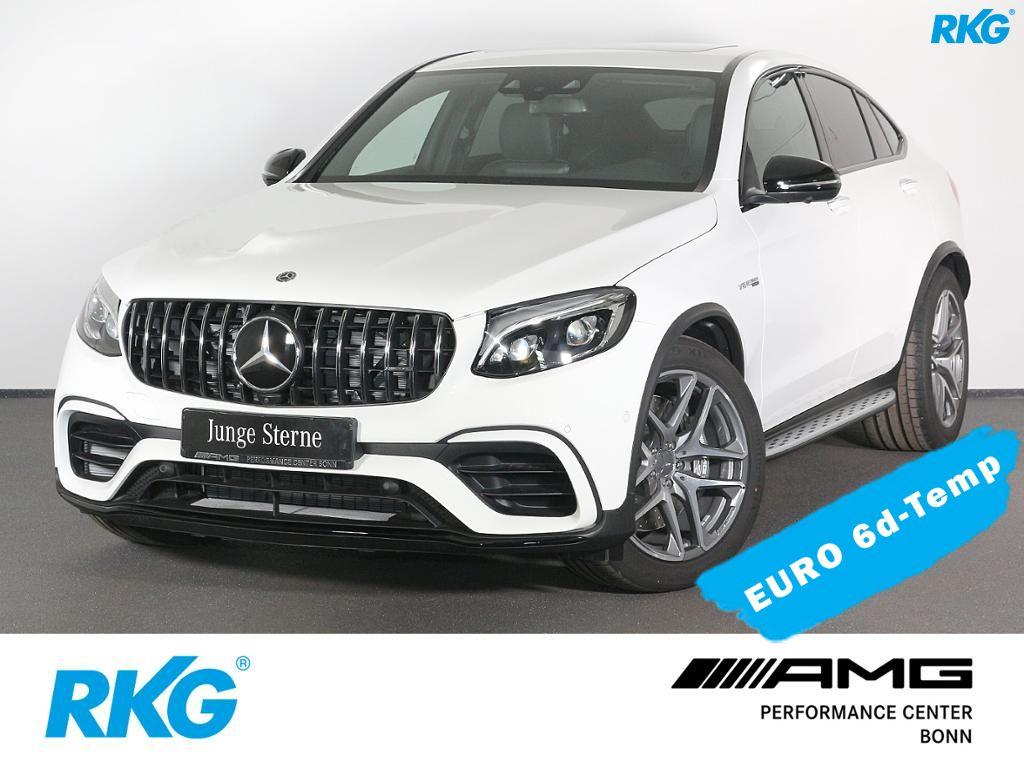 Mercedes-Benz GLC 63 AMG 4M+ Coupé Sitzklima*Drivers Package*, Jahr 2018, petrol