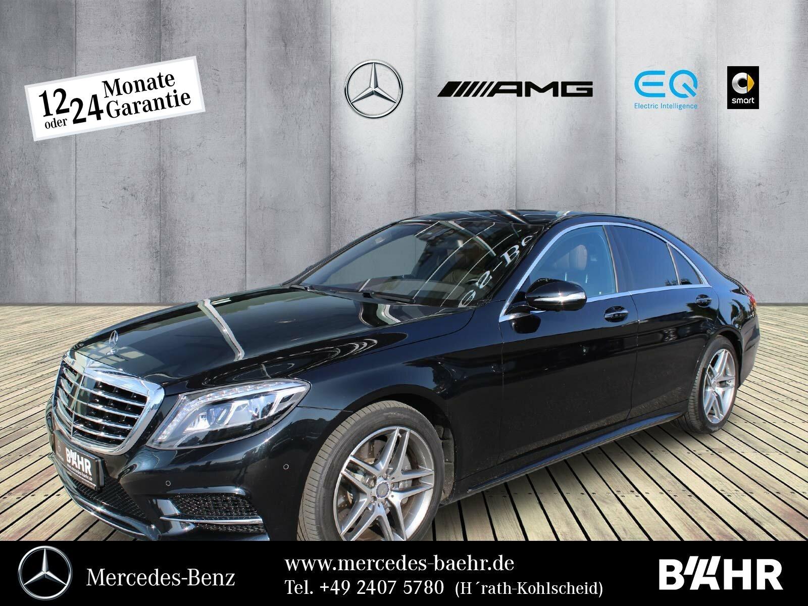 """Mercedes-Benz S 350 d 4M AMG/Comand/LED-ILS/Distronic/360°/19"""", Jahr 2015, diesel"""