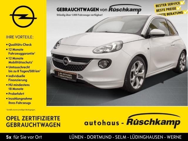 Opel Adam S 1.4 Turbo 8-Fach bereift auf Alu, Scheckheft gepflegt,, Jahr 2017, Benzin