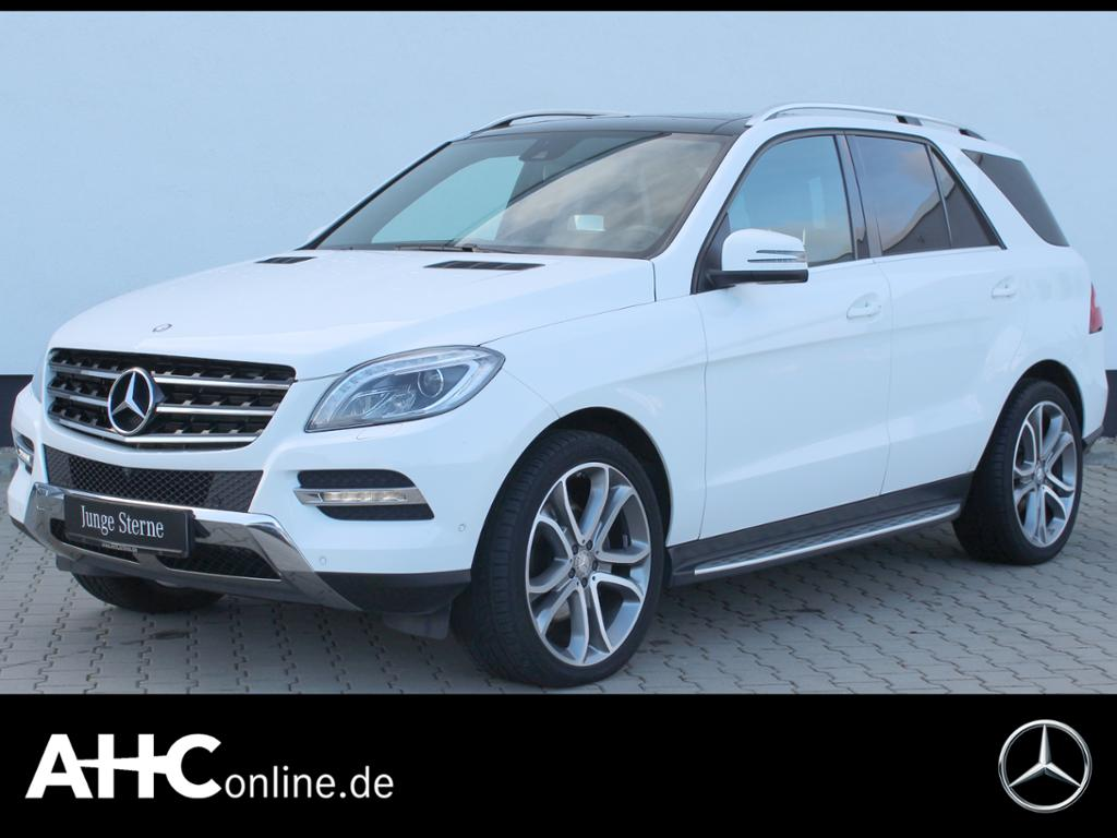 Mercedes-Benz ML 400 4M SOUND+HUD+BI-XENON+COMAND+AIRMATIC+AHK, Jahr 2015, Benzin