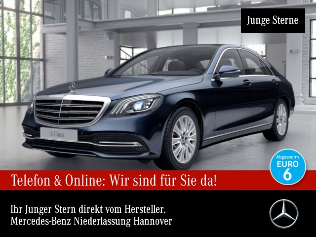 Mercedes-Benz S 560 4M Nachtsicht 360° Stdhzg Pano Multibeam, Jahr 2018, Benzin