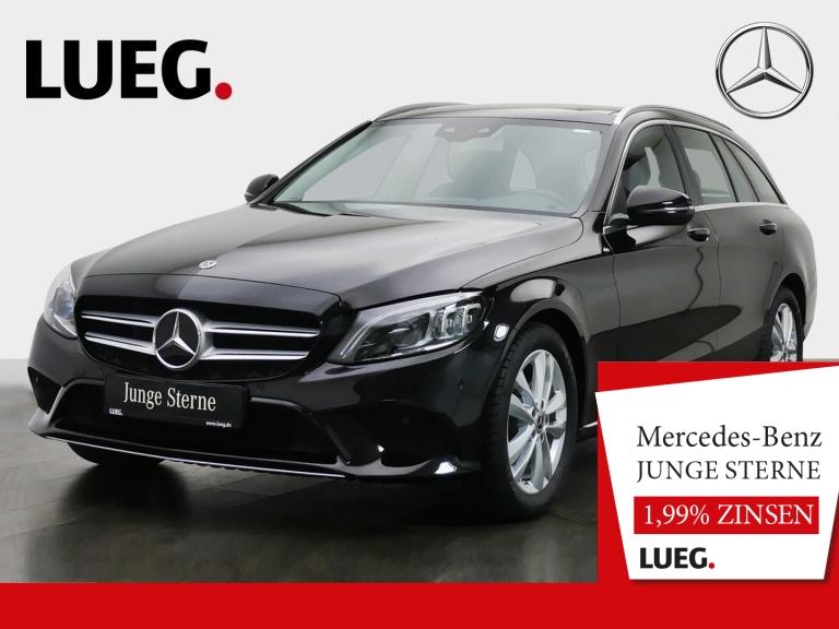 Mercedes-Benz C 180 T Avantgarde+COM+Pano+Mbeam+AHK+SpurP+RFK+, Jahr 2019, Benzin