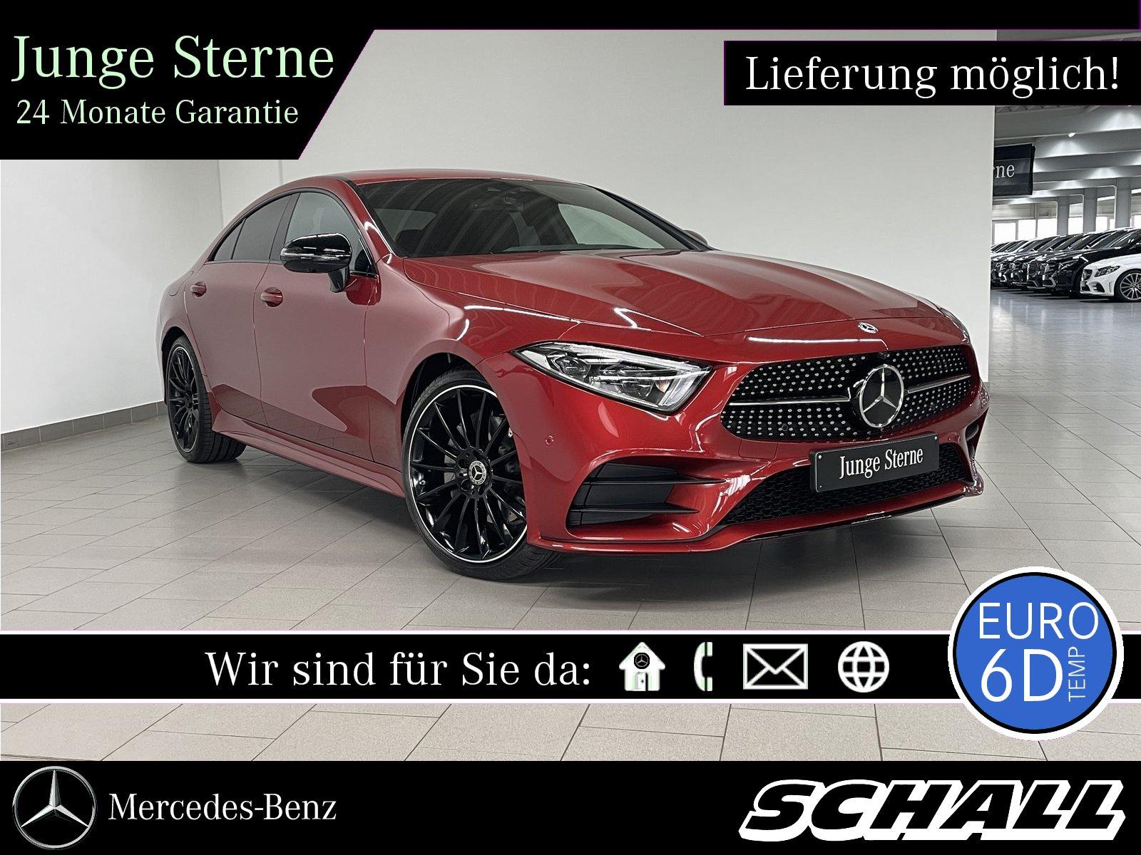 Mercedes-Benz CLS 220 d AMG+NIGHT+DISTR+WIDE+LED+MEMO+360°+HUD, Jahr 2020, Diesel