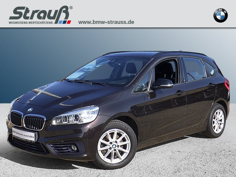 BMW 218d Active Tourer Sport Line EURO 6 LED Navi Tempomat, Jahr 2015, diesel
