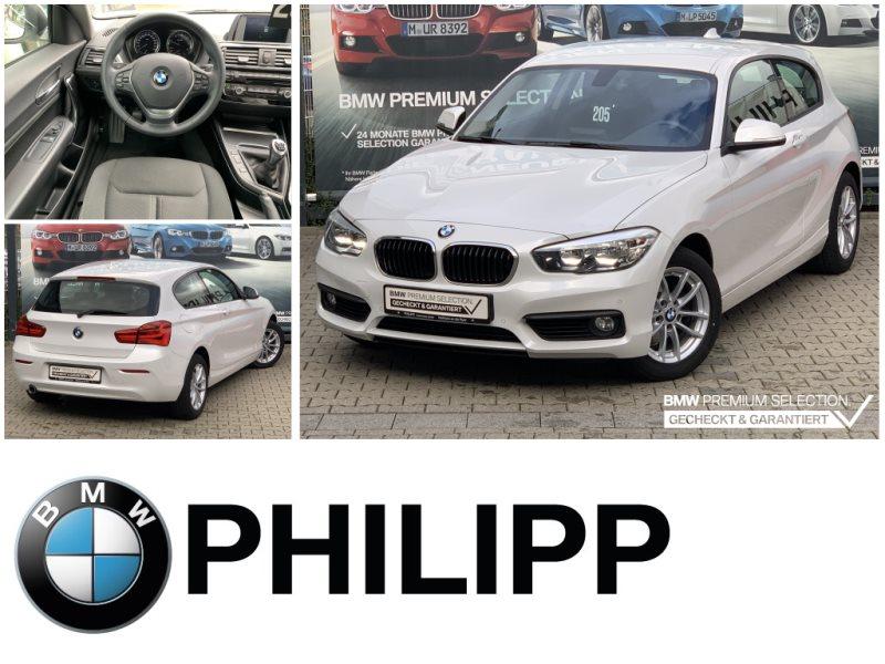 BMW 118d 3-Türer Advantage Tempomat USB Shz PDC, Jahr 2017, Diesel