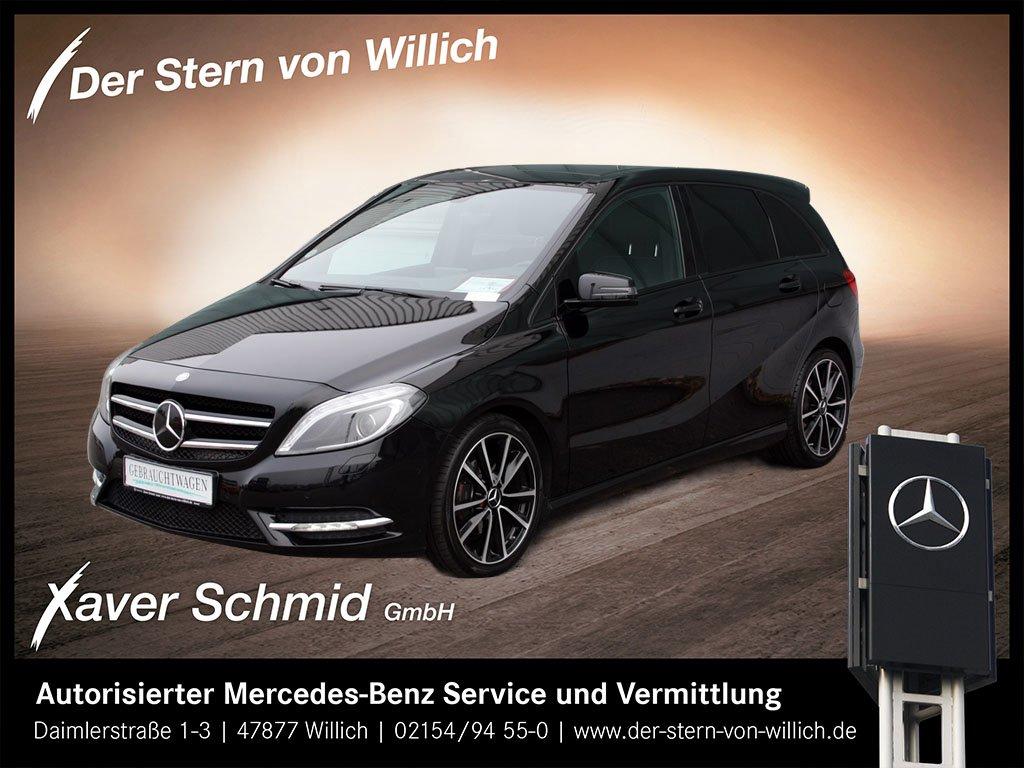 Mercedes-Benz B 180 Sport/Night-Paket*Panorama*Xenon*Navi*PTS*, Jahr 2013, Benzin