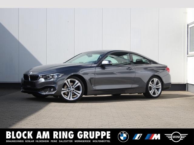 BMW 430d Coupé Navi HiFi PDC Memory Klima, Jahr 2018, Diesel