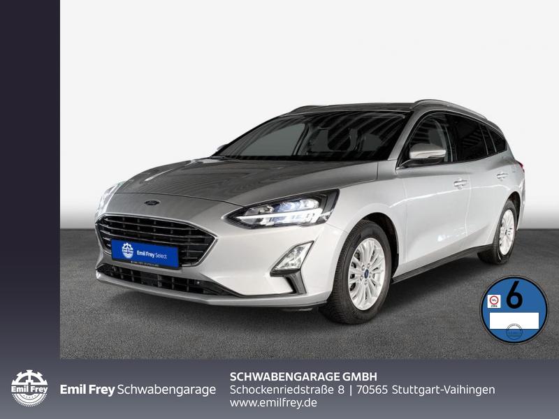 Ford Focus Turnier Aut. TITANIUM LED Standhzg Navi ACC, Jahr 2019, Diesel