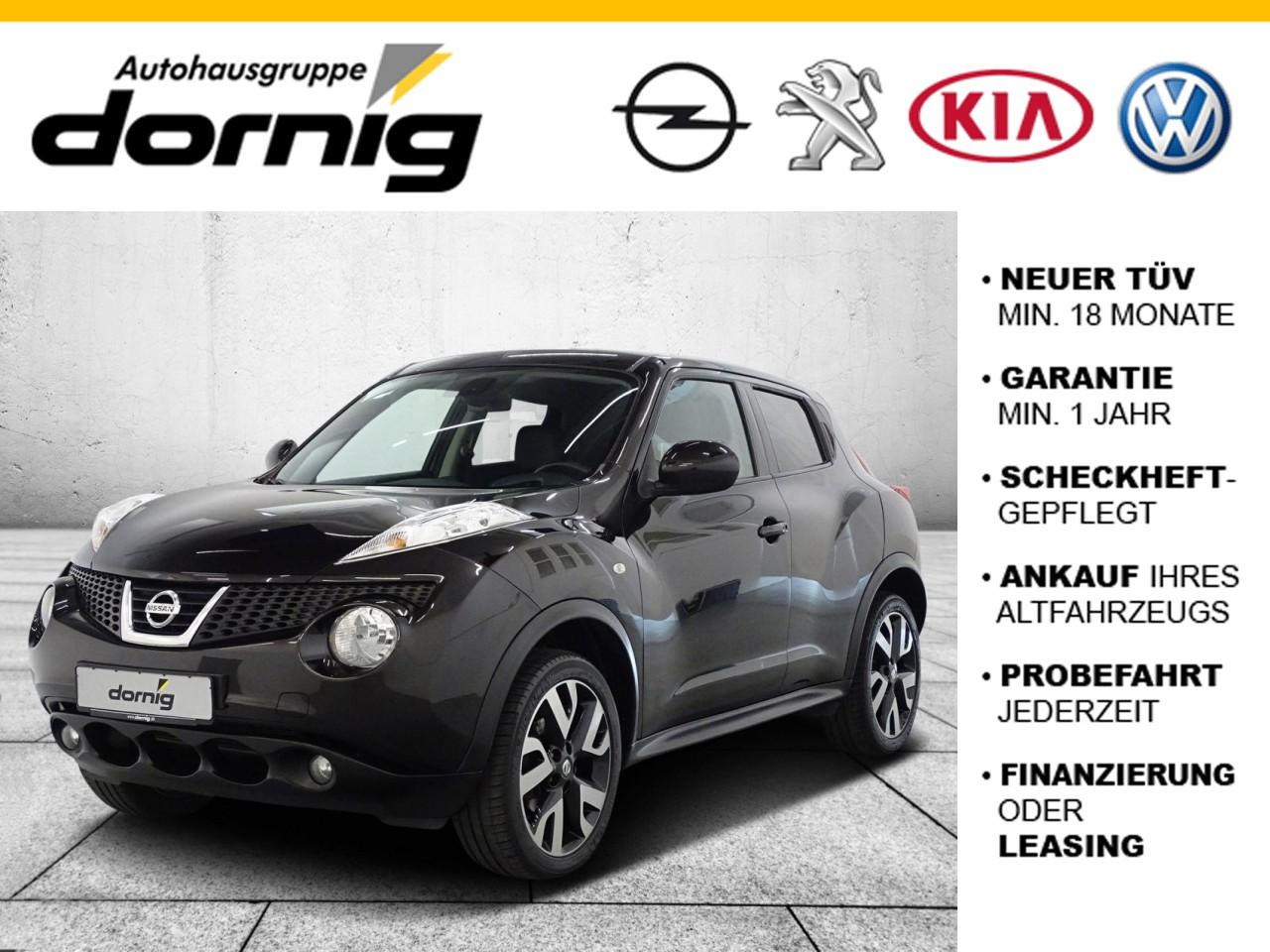 Nissan Juke Tekna, Leder, SH, PDC, Jahr 2014, Benzin