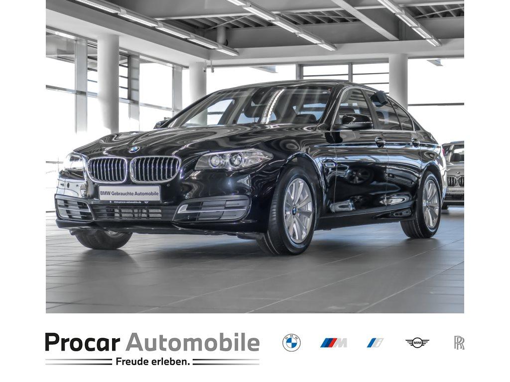 BMW 520d Limousine Head-Up RFK Kurvenlicht Glsd., Jahr 2016, Diesel