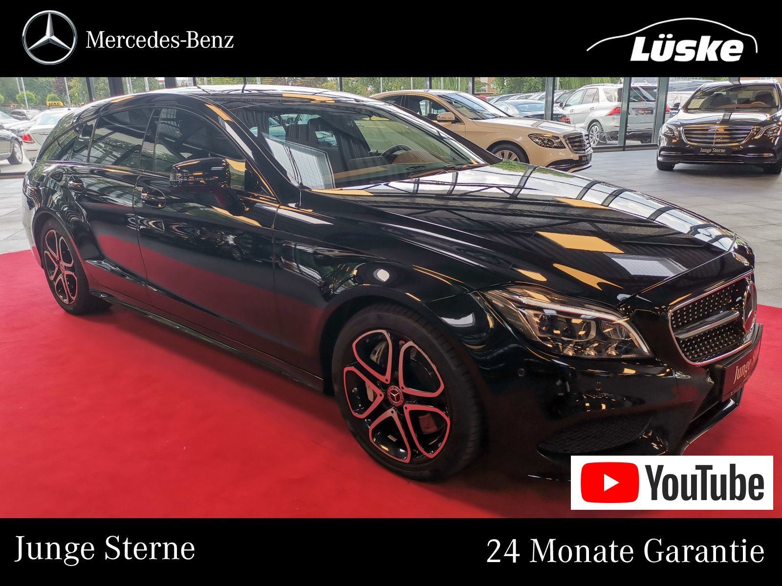 Mercedes-Benz CLS 500 SB AMG-Line Night Distronic Airmatic 360, Jahr 2016, petrol