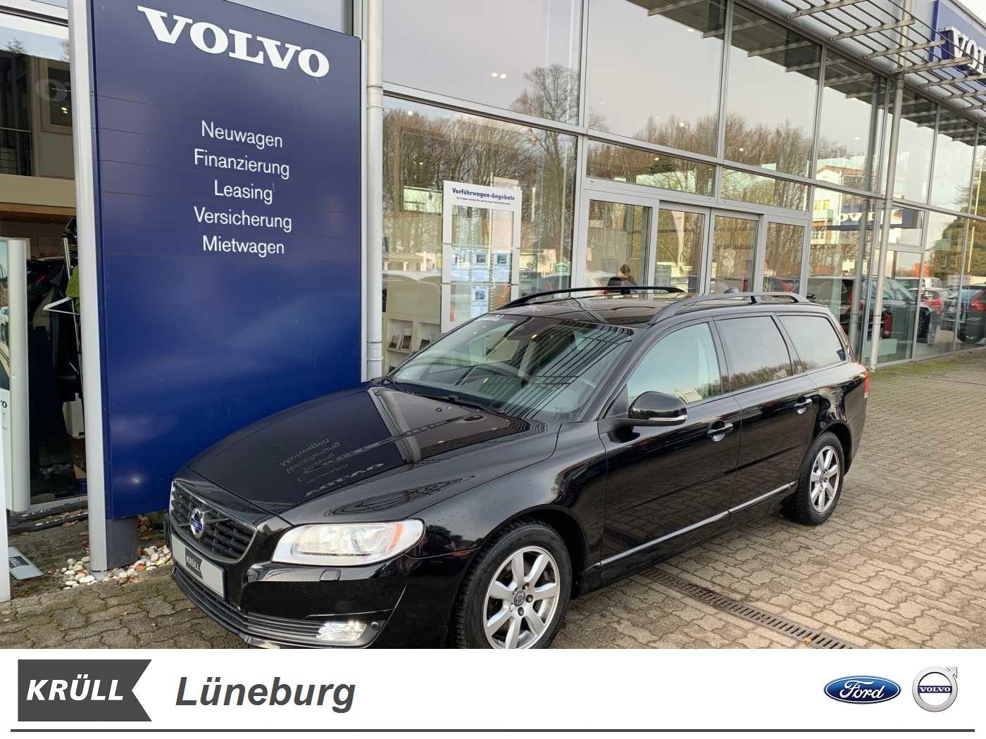 Volvo V70 D2 Geartronic Linje Svart *Einparkhilfe*Navi*Klima*Sitzheizung*, Jahr 2016, Diesel