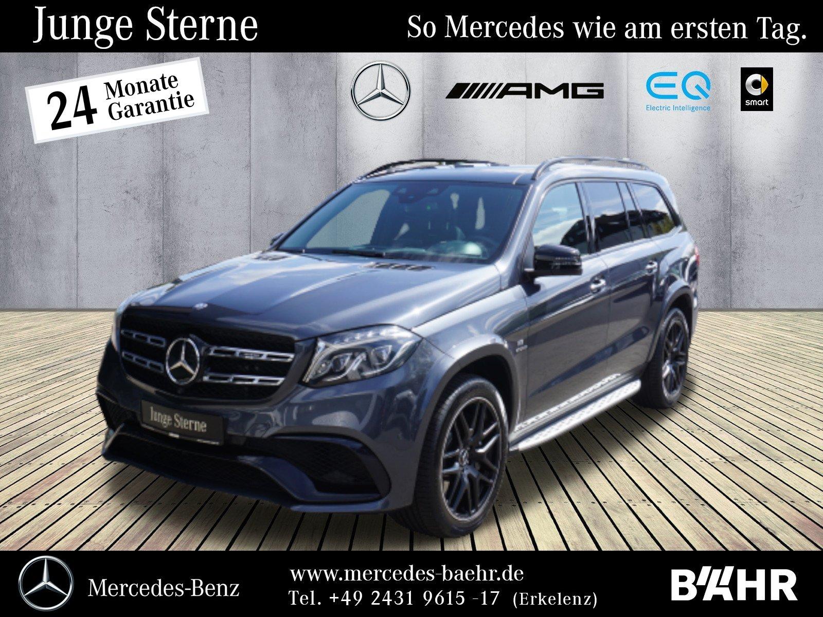"Mercedes-Benz GLS 63 AMG 4M Night/Comand/ILS/Airmatic/Pano/21"", Jahr 2016, petrol"