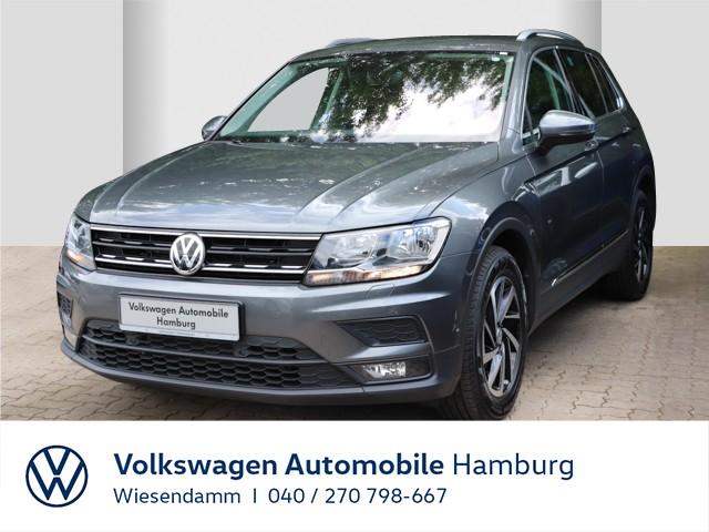 Volkswagen Tiguan 2.0 TDI DSG Join AHK anklappbar Klimaautomatik Navi Rückfahrkamera LM, Jahr 2018, Diesel