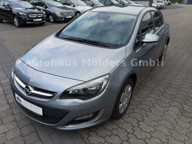 Opel Astra 1.4 *Garantie*Klima*PDC*99 mtl., Jahr 2013, Benzin