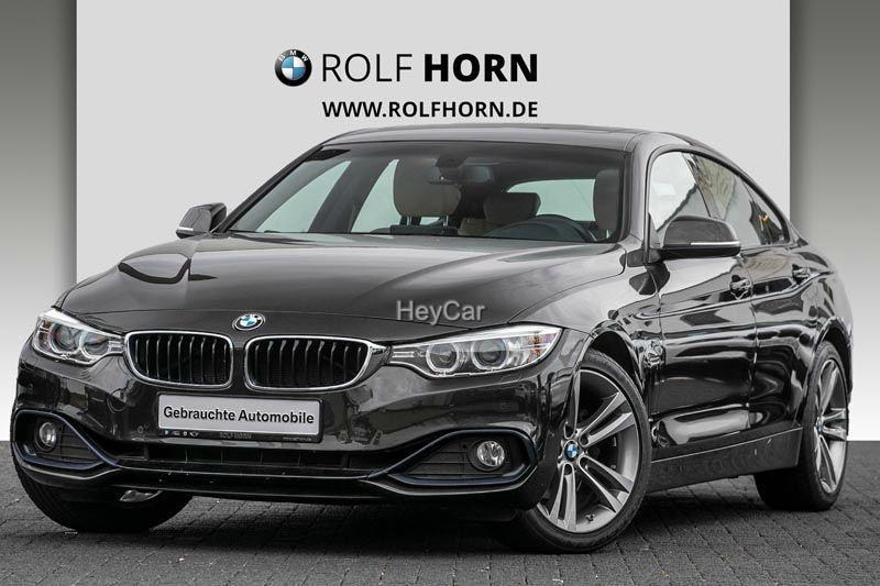 BMW 420 Gran Coupe Sport Line Navi AHK Autom. Glasd, Jahr 2017, Benzin