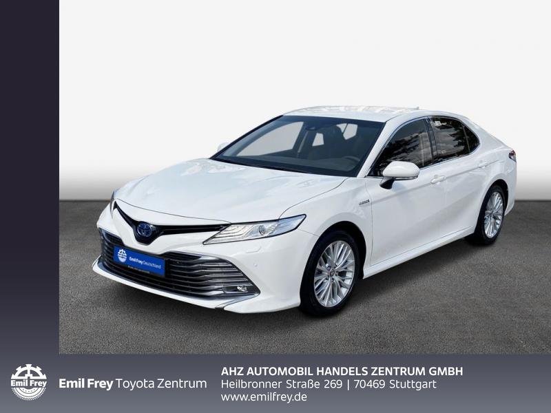 Toyota Camry Executive, LED, Navi, Leder, Rü-Kamera, Jahr 2021, Hybrid