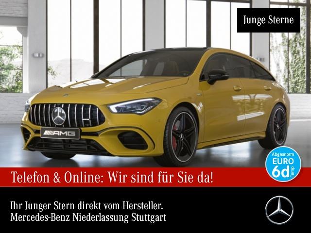 Mercedes-Benz CLA 45 S 4M NIGHT PANO Drivers Distr. Perf. Sitz, Jahr 2020, Benzin