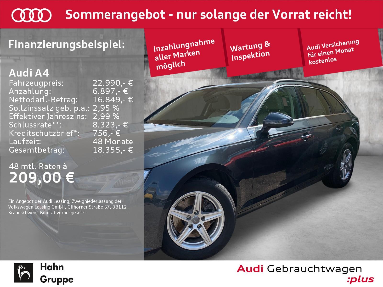 Audi A4 Avant 1.4 TFSI Navi Xen CAM Sitzh Klima, Jahr 2018, Benzin