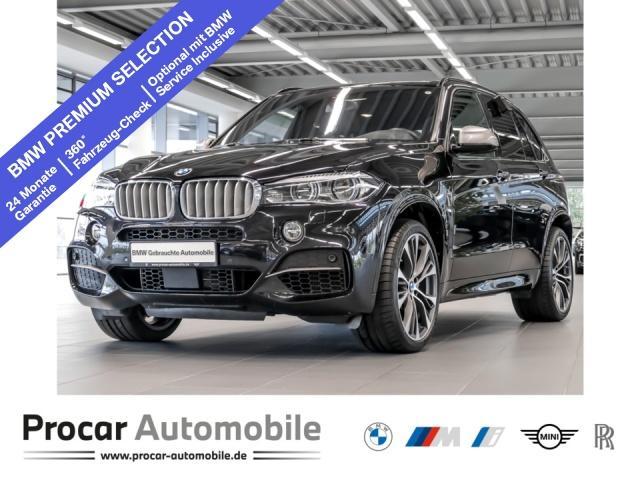BMW X5 M50d M Sport Head-Up H/K LED DA+ Panorama AHK, Jahr 2017, Diesel
