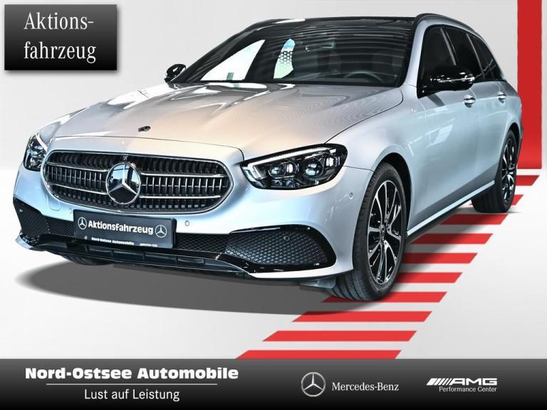 Mercedes-Benz E 220 d T NIGHT AHK DISTRONIC PANO BURMESTER, Jahr 2020, Diesel