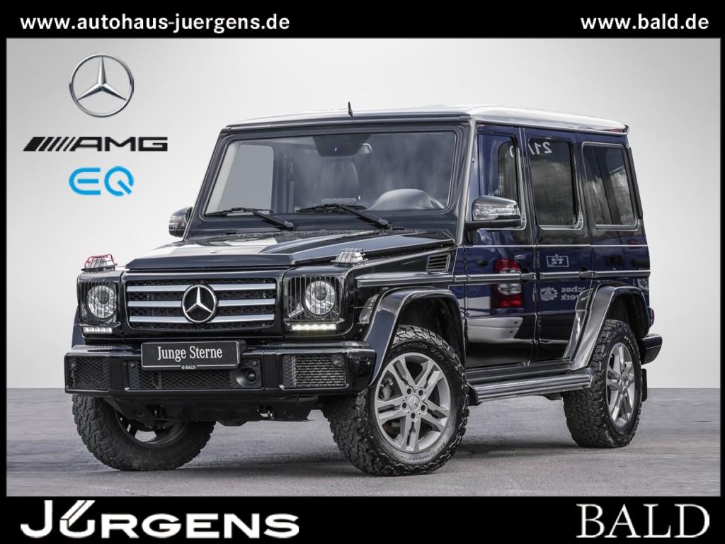 Mercedes-Benz G 350 d Comand/SHD/Cam/Leder/Distr/AHK/Totw/DAB, Jahr 2017, Diesel