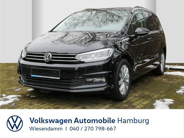 Volkswagen Touran 1.5 TSI DSG Highline Klimaautomatik Navi LM, Jahr 2019, Benzin