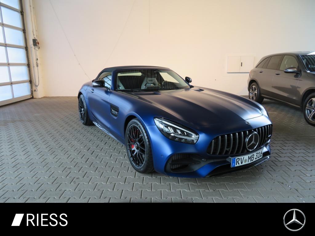Mercedes-Benz AMG GT C Roadster COMAND+DISTR+KEYL+BURM+NIGHT++, Jahr 2021, Benzin