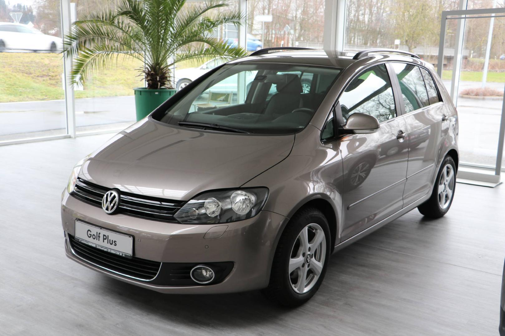 Volkswagen Golf Plus Trendline 1,4 TSI Match, Jahr 2012, Benzin
