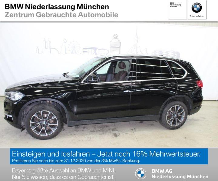 BMW X5 xDrive30d HiFi DAB Xenon Pano.Dach RFK RTTI EURO 6, Jahr 2017, Diesel