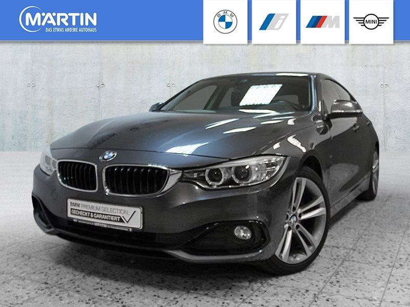 BMW 420d Gran Coupé *Head-Up*HiFi*Xenon*GSD*RFK*USB*, Jahr 2014, Diesel