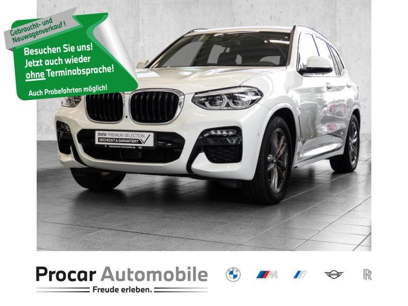 BMW X3 xDrive20d MSPORT+HUD+HiFi+AHK+ASSISTENTPLUS+DISPLAYKEY, Jahr 2020, Diesel