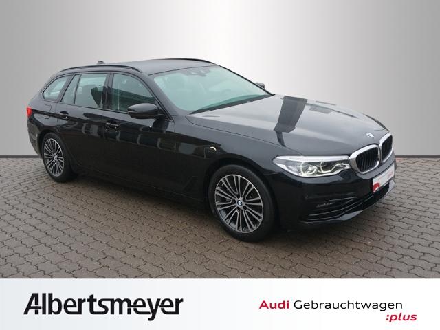 BMW 540 i xDrive Sport Line LED Head-up, Jahr 2018, petrol