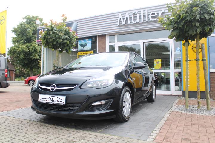 Opel Astra 1.4 Turbo Edition AHK, Jahr 2014, Benzin