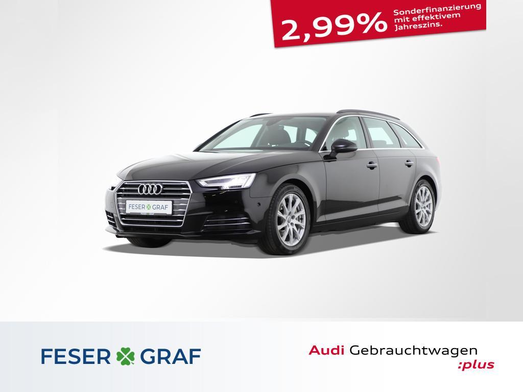 Audi A4 Avant Design 2.0 TDI AHK/LED/Navi/Tempomat, Jahr 2018, Diesel